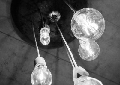 Glühbirnen, Studio Einrichtung